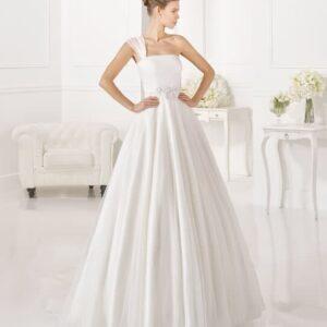 Félvállpántos, tüll, Rosa Clara esküvői ruha
