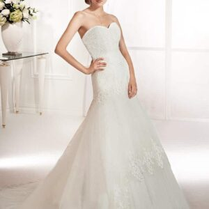 Karcsúsított esküvői ruha