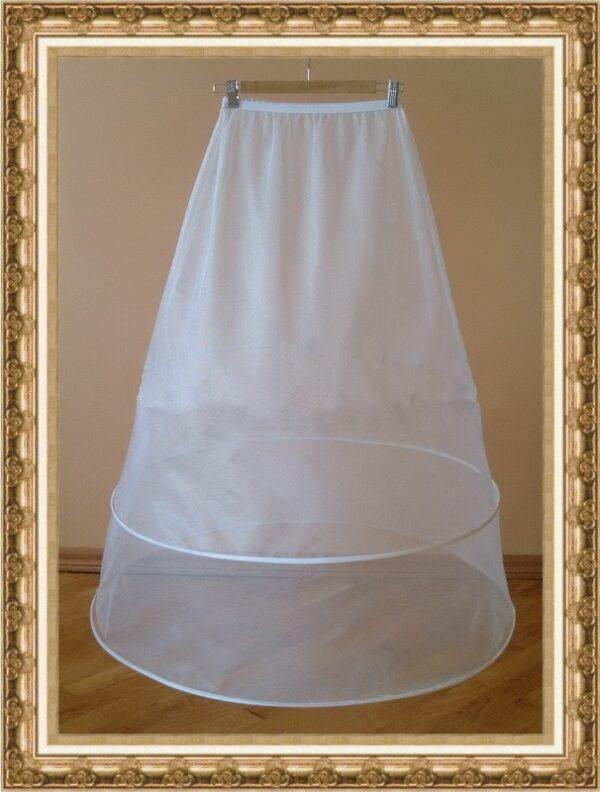2 karikás menyasszonyi abroncs, alsószoknya