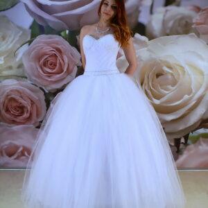 Kristályos keringő ruha, szalagavató ruha