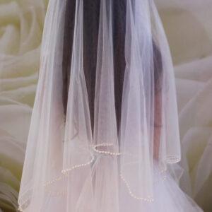 Gyöngyös menyasszonyi fátyol