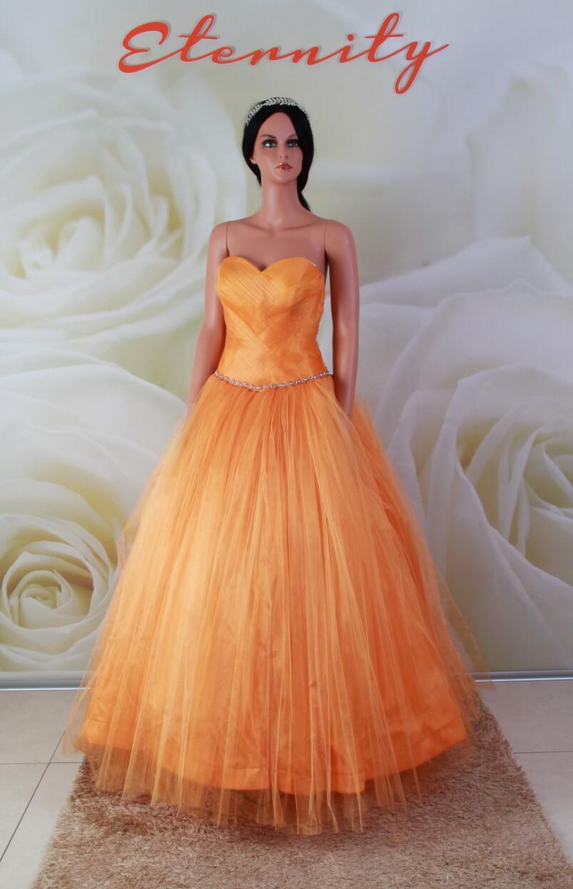19667c8e7f Narancssárga alkalmi ruha