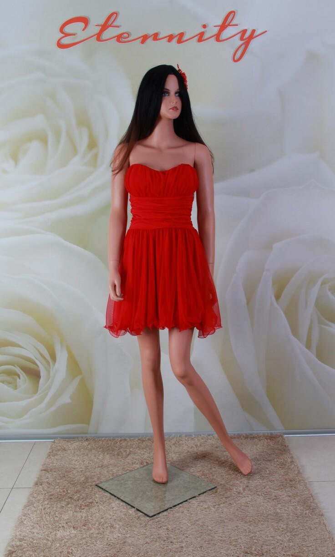 f501d287ee Piros, tüll menyecske ruha, alkalmi ruha