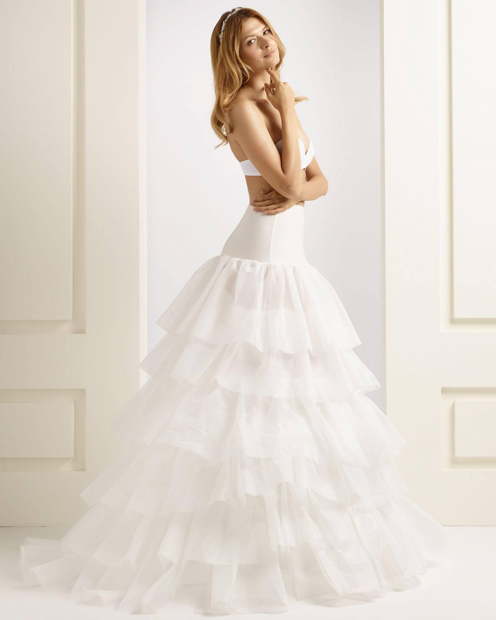 Menyasszonyi alsószoknya, abroncs 2-3-4-5 karikás