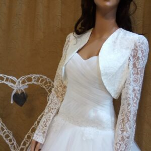 Menyasszonyi bolero 23