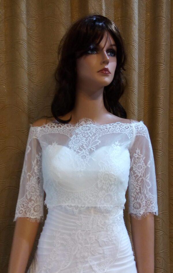 Menyasszonyi bolero 24