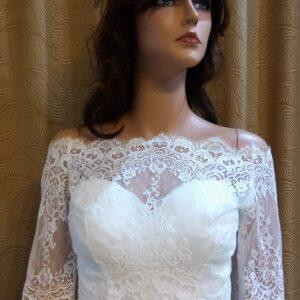 Menyasszonyi bolero 26