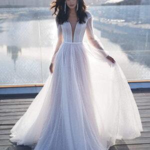 d46c1fbcdf Menyasszonyi ruha - Csipke, A-vonalú, Sellő-Félsellő, Báli ruha fazonú