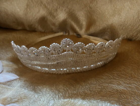 Menyasszonyi tiara 18