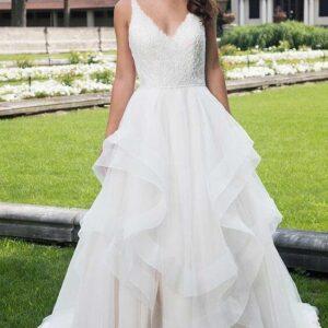 Fodros, 2 részes menyasszonyi ruha
