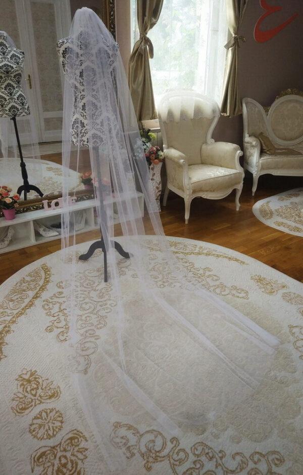 Menyasszonyi fátyol 41b fehér